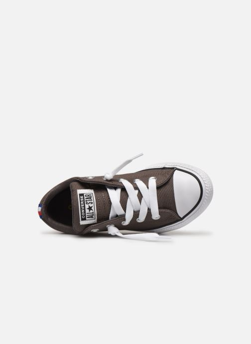 Sneakers Converse Chuck Taylor All Star Street Slip Sport Webbing Grigio immagine sinistra