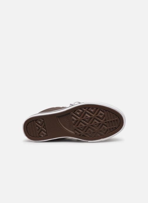 Sneakers Converse Chuck Taylor All Star Street Slip Sport Webbing Grigio immagine dall'alto