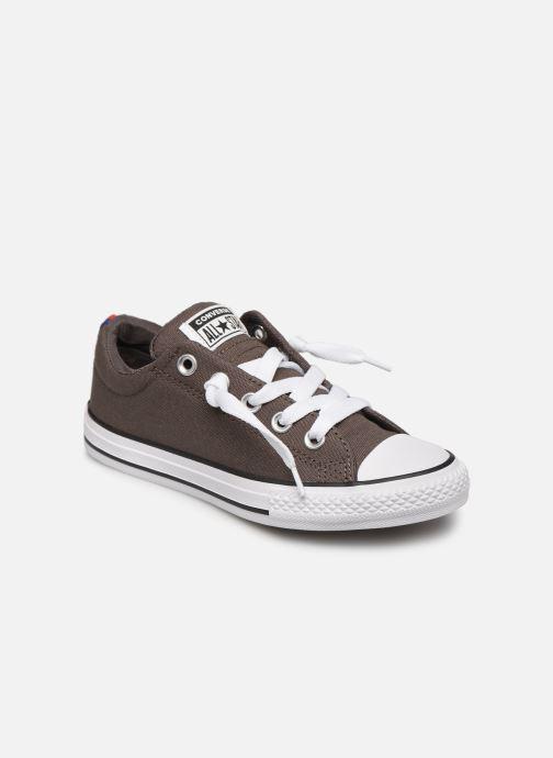 Sneakers Converse Chuck Taylor All Star Street Slip Sport Webbing Grijs detail
