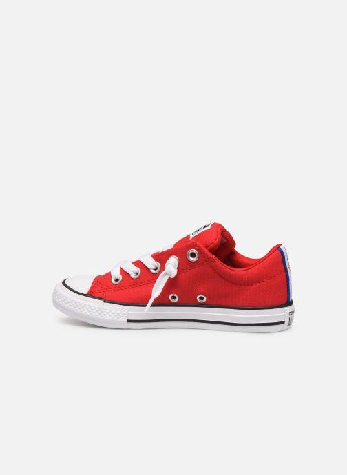Sneakers Converse Chuck Taylor All Star Street Slip Sport Webbing Rood voorkant