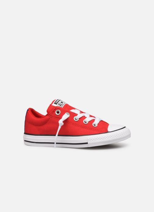 Sneakers Converse Chuck Taylor All Star Street Slip Sport Webbing Rood achterkant