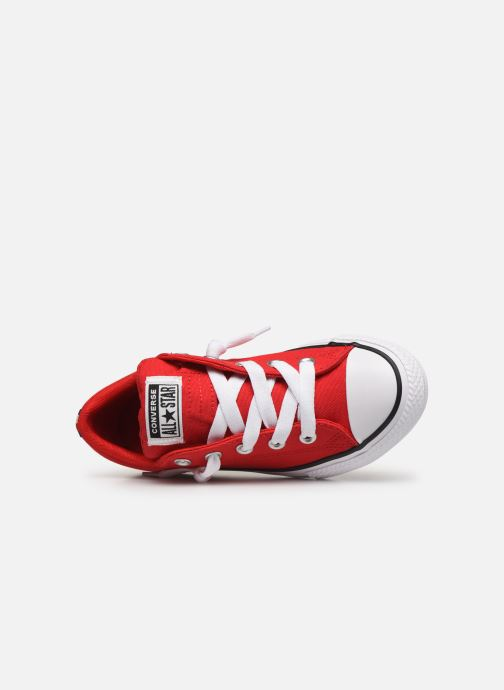 Trainers Converse Chuck Taylor All Star Street Slip Sport Webbing Red view from the left