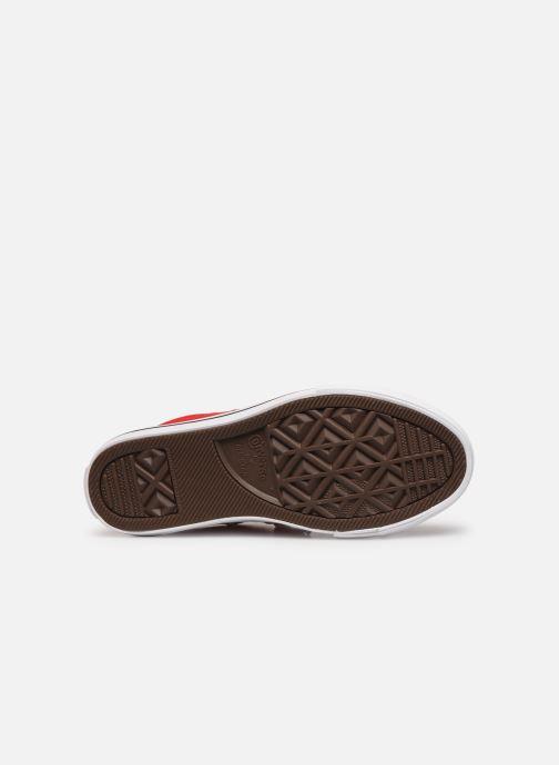 Sneakers Converse Chuck Taylor All Star Street Slip Sport Webbing Rood boven