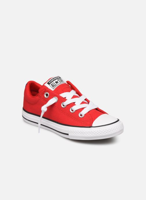 Trainers Converse Chuck Taylor All Star Street Slip Sport Webbing Red detailed view/ Pair view