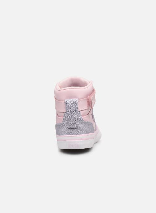 Sneakers Converse Pro Blaze Strap Hi Tipped Back Court Leather Roze rechts