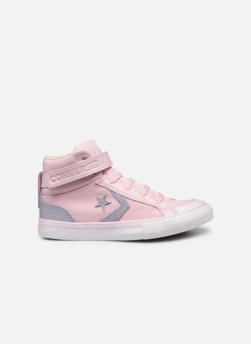 Sneakers Converse Pro Blaze Strap Hi Tipped Back Court Leather Roze achterkant