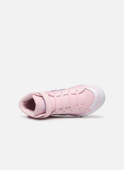Sneakers Converse Pro Blaze Strap Hi Tipped Back Court Leather Rosa bild från vänster sidan