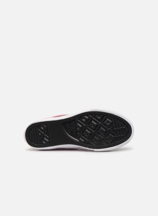 Sneakers Converse Pro Blaze Strap Hi Tipped Back Court Leather Rosa bild från ovan