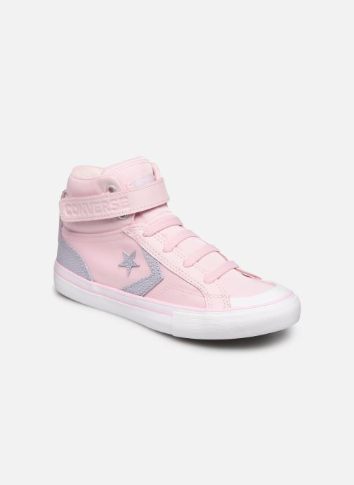 Sneakers Converse Pro Blaze Strap Hi Tipped Back Court Leather Roze detail