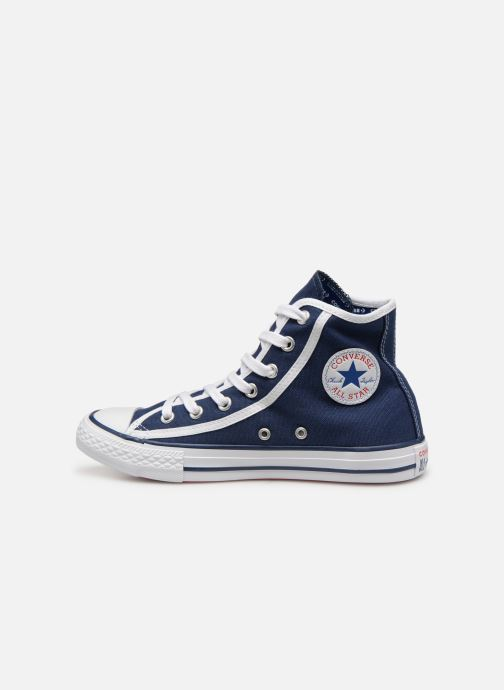 Baskets Converse Chuck Taylor All Star Hi Gamer Bleu vue face