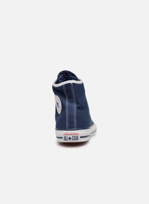 Sneakers Converse Chuck Taylor All Star Hi Gamer Blauw rechts