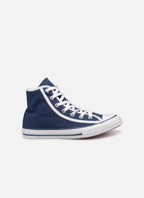 Baskets Converse Chuck Taylor All Star Hi Gamer Bleu vue derrière