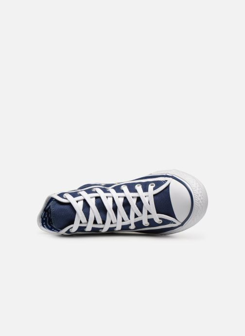 Baskets Converse Chuck Taylor All Star Hi Gamer Bleu vue gauche