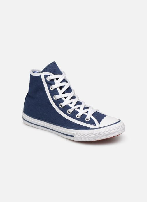 Baskets Converse Chuck Taylor All Star Hi Gamer Bleu vue détail/paire