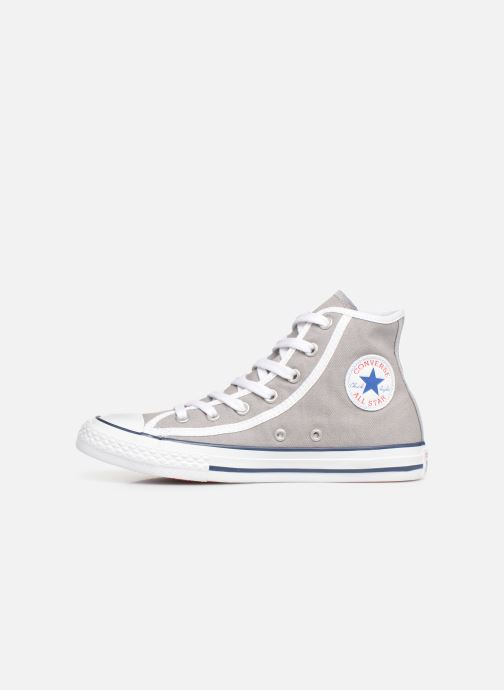 Sneakers Converse Chuck Taylor All Star Hi Gamer Grigio immagine frontale