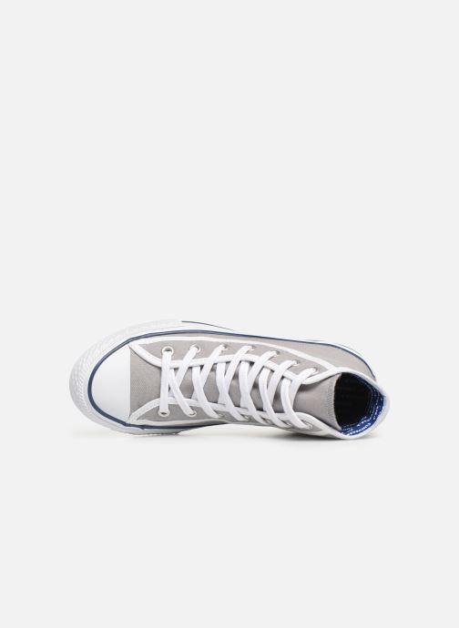 Sneakers Converse Chuck Taylor All Star Hi Gamer Grigio immagine sinistra