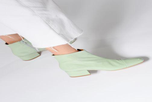 Bottines et boots Made by SARENZA Sport Party Boots #2 Rose vue bas / vue portée sac