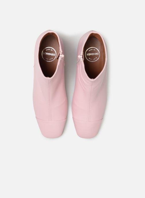 Bottines et boots Made by SARENZA Sport Party Boots #2 Rose vue portées chaussures