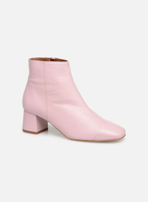 Ankle boots Made by SARENZA Sport Party Boots #2 Pink view from the right