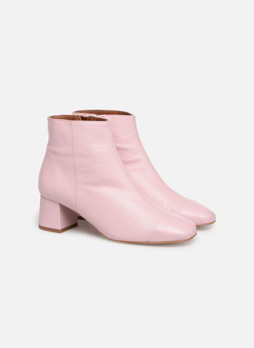 Stiefeletten & Boots Made by SARENZA Sport Party Boots #2 rosa ansicht von hinten
