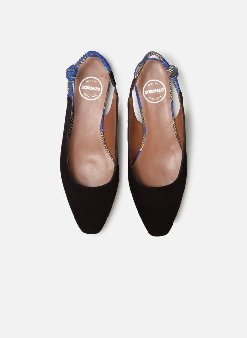Ballerines Made by SARENZA UrbAfrican Ballerines #1 Noir vue portées chaussures