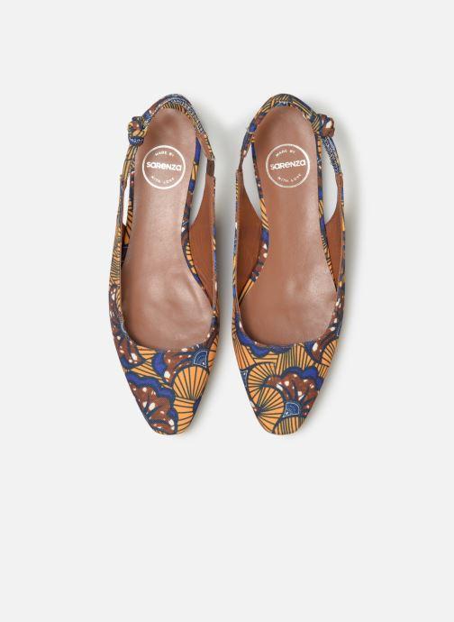 Ballerines Made by SARENZA UrbAfrican Ballerines #1 Jaune vue portées chaussures