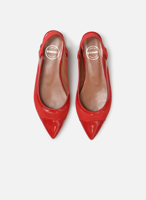 Ballet pumps Made by SARENZA Sport Party Ballerines #1 Red model view