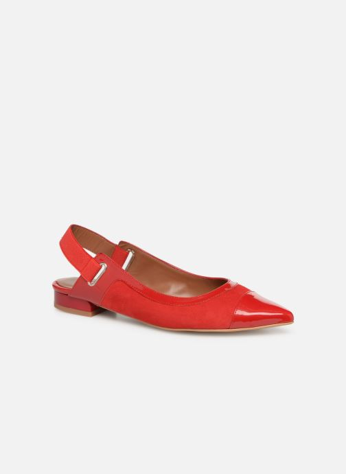 Ballet pumps Made by SARENZA Sport Party Ballerines #1 Red view from the right