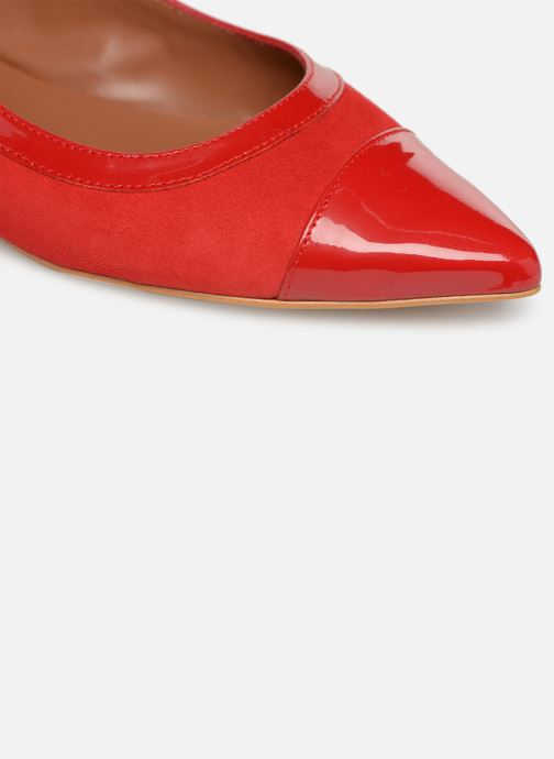 Ballet pumps Made by SARENZA Sport Party Ballerines #1 Red view from the left