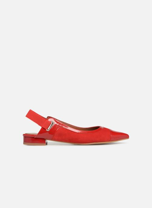 Ballet pumps Made by SARENZA Sport Party Ballerines #1 Red detailed view/ Pair view