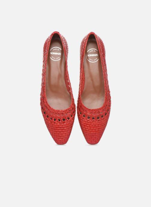 Bailarinas Made by SARENZA Riviera Couture Ballerines #3 Rojo vista del modelo