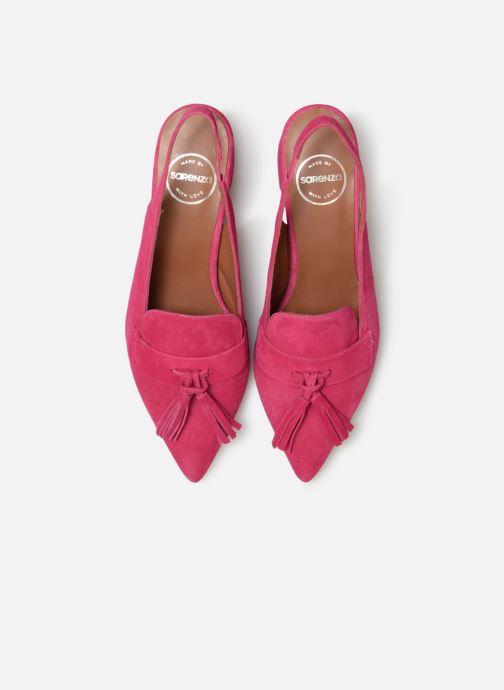 Mocassins Made by SARENZA Pastel Affair Mocassins #1 Rose vue portées chaussures