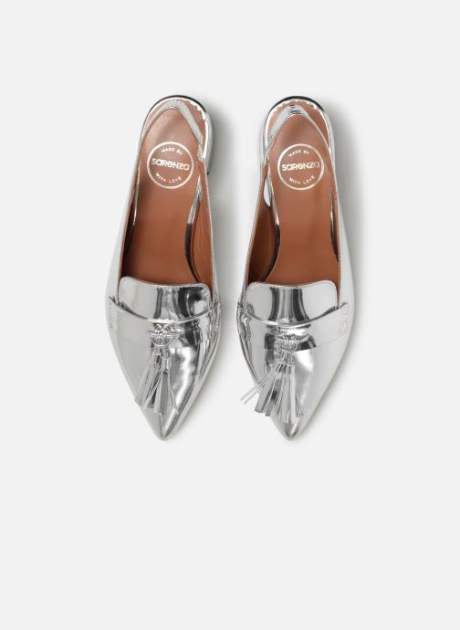 Mocassins Made by SARENZA Pastel Affair Mocassins #1 Argent vue portées chaussures