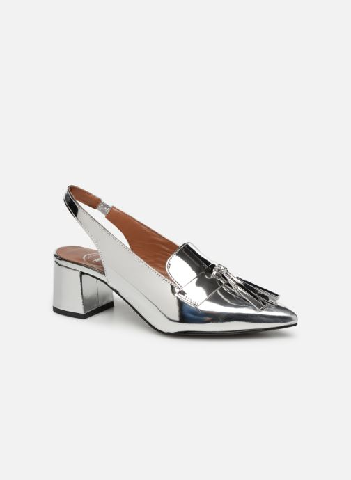 Loafers Made by SARENZA Pastel Affair Mocassins #1 Silver view from the right