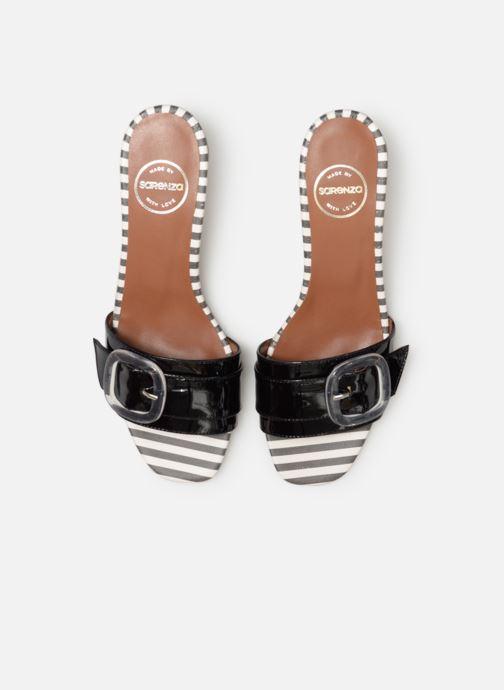 Zuecos Made by SARENZA Pastel Affair Mules #3 Negro vista del modelo