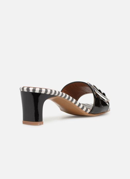 Zuecos Made by SARENZA Pastel Affair Mules #3 Negro vista de frente
