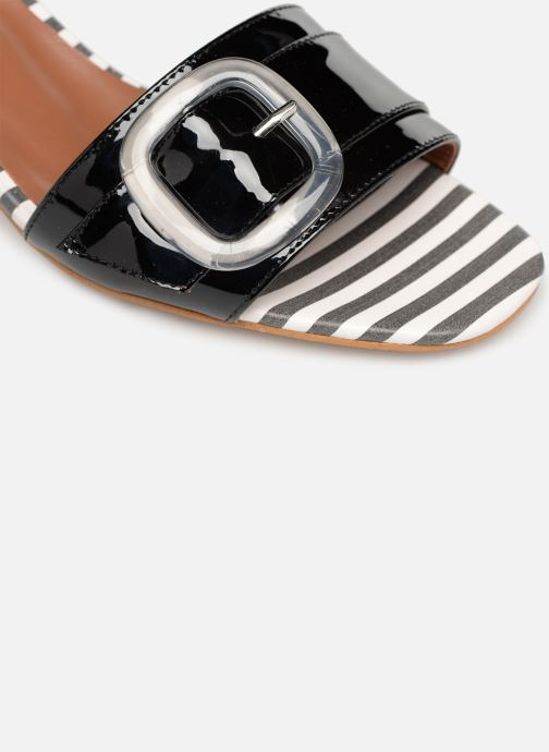 Zuecos Made by SARENZA Pastel Affair Mules #3 Negro vista lateral izquierda
