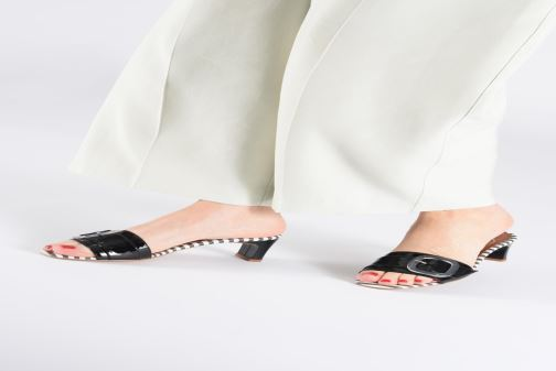 Wedges Made by SARENZA Pastel Affair Mules #3 Rood onder