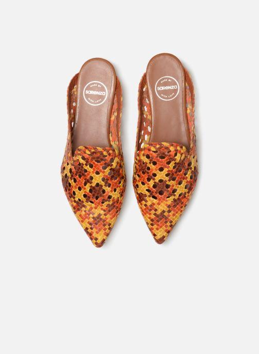 Clogs & Pantoletten Made by SARENZA Riviera Couture Mule #3 mehrfarbig schuhe getragen