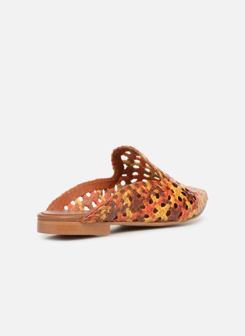 Zuecos Made by SARENZA Riviera Couture Mule #3 Multicolor vista de frente