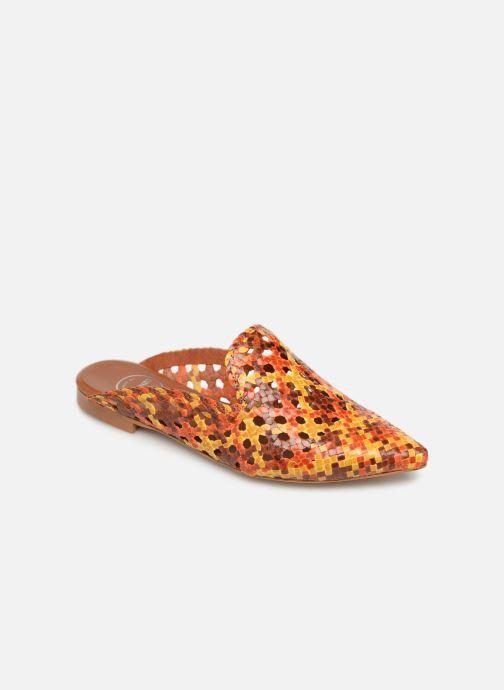 Zuecos Made by SARENZA Riviera Couture Mule #3 Multicolor vista lateral derecha
