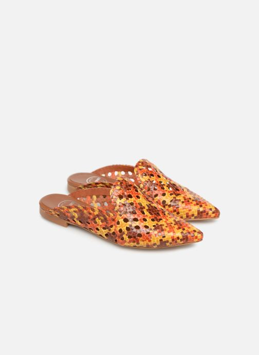 Zuecos Made by SARENZA Riviera Couture Mule #3 Multicolor vistra trasera
