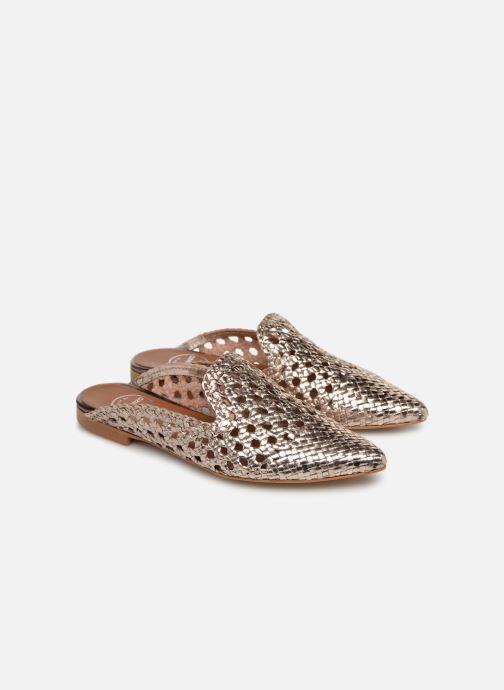 Zoccoli Made by SARENZA Riviera Couture Mule #3 Oro e bronzo immagine posteriore