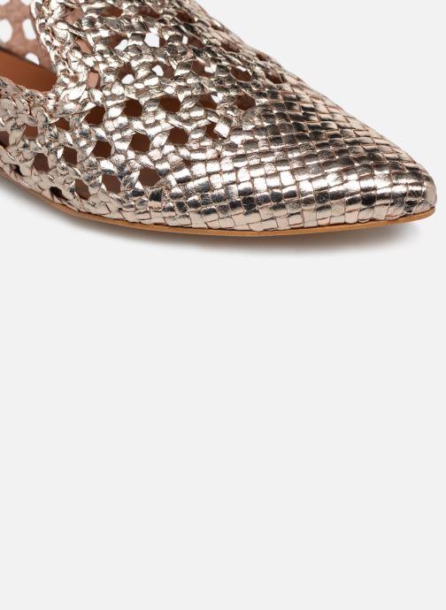 Zoccoli Made by SARENZA Riviera Couture Mule #3 Oro e bronzo immagine sinistra
