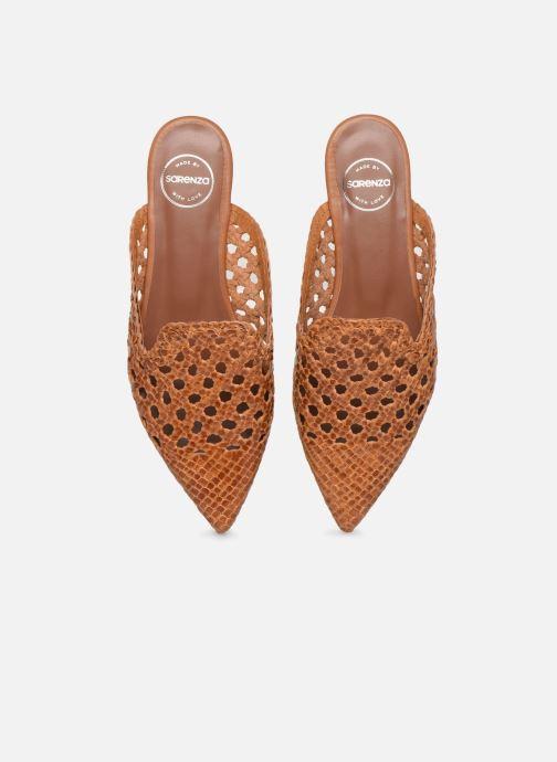 Mules et sabots Made by SARENZA Riviera Couture Mule #3 Marron vue portées chaussures