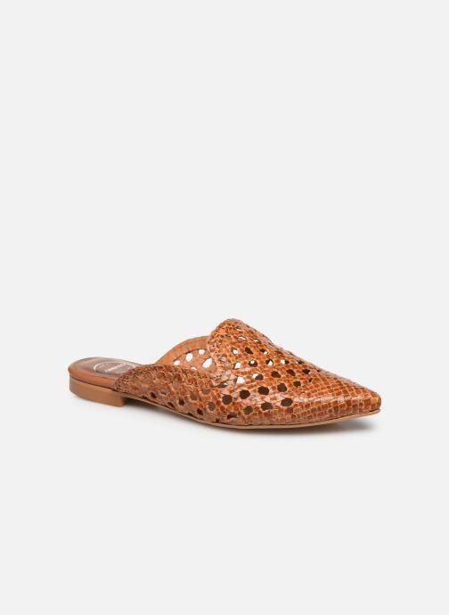 Zoccoli Made by SARENZA Riviera Couture Mule #3 Marrone immagine destra
