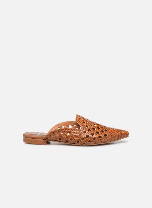 Zuecos Made by SARENZA Riviera Couture Mule #3 Marrón vista de detalle / par