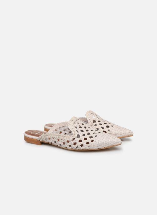 Clogs & Pantoletten Made by SARENZA Riviera Couture Mule #3 weiß ansicht von hinten