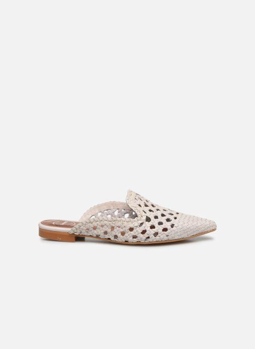 Zuecos Made by SARENZA Riviera Couture Mule #3 Blanco vista de detalle / par