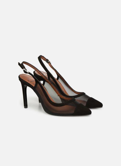 High heels Made by SARENZA Sport Party Escarpins #1 Black back view